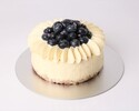 ブルーベリーチーズケーキ15cm