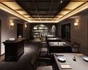 上海蟹と厳選素材の特別コース 80,000円(テーブル席)