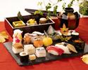 【平日・WEB限定】廚洊御膳~寿司御膳と秋のそば~