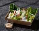 Caesar salad grilled chicken breast, bacon, parmesan shavings, croutons ¥1,512(Inclusive tax)
