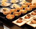 【豊岡市の方限定パーティプラン】冷温菜盛り合わせ2皿+フリードリンク(10名以上)