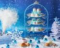 【土日祝】スノープリンセスアフタヌーンティー~雪の女王~ロイヤルブルー