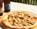 [Take Out to your room] Teriyaki chicken pizza