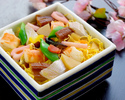 ★ランチ【嬉しいデザートプレート付き!】七五三お祝いプラン~お祝いちらし寿司とともに~