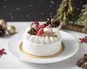 【3号】Xmas ウエディングショートケーキ