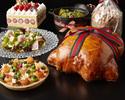 【Christmas Take out】 Christmas Take Out Menu(For 2-4 persons)+Christmas Strawberry Shortcake (12cm)