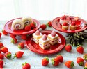 <Adult rate for WEEKENDS & HOLIDAYS> Sandwich & Dessert Buffet:Strawberry