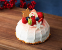 【Early Bird by 11/15, Online Exclusive Offer】 Jersey Cream Strawberry Shortcake 15cm