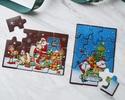 ◆クリスマスチョコレートパズル〈サンタ&キッズ〉横型