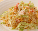 蟹とレタスのさっぱり炒飯
