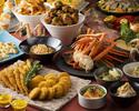 【北海道フェア】 平日限定Dinner Buffet+飲み放題付きプラン 120分制