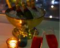 【Xmas2021早割】<聖夜B> ベビーシャンパン付!神戸牛・オマール海老や鮮魚ほかクリスマス特別コース!  <<早割Web予約価格は12/10まで!>>