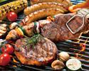 【公式特典BBQ】プレミアムハワイアン秋BBQコース2h飲み放題付きな♪手ぶらでBBQ☆彡