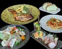【WEB限定価格】ボリュームたっぷり全5皿+2Hフリードリンクコース<TORRENT CASUAL COURSE>