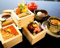 90 minutes 12,000 yen plan with drinks to enjoy kaiseki cuisine together