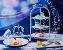 ◇【12/1~17・2022/1/5~30 大聖堂を望む窓際席確約 カフェフリー】Princess Afternoon tea ~シンデレラの夢見るアフタヌーンティー~