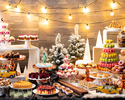 【Nov 3-Jan 10/Early Bird 24%OFF/WE&PH】「HOLIDAY IN NEW YORK」Sweets Buffet