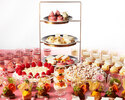 [Online price] White & Ruby Chocolate Sweets Buffet 4,500 yen