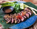 【6600yen Food Course 】絶品!国産黒毛和牛やズワイ蟹の焼売が堪能できる極上の全10品アジアン・フードコース