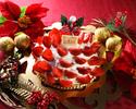 ★プラザ神戸【2021クリスマスケーキ】数量限定販売!今年もパティシエが腕によりをかけたケーキが勢ぞろい!ご予約承り中<あまおうたっぷり苺のX'mas cake>