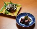 Kyoto-style Kaiseki ''Yume no Ukihashi'' 55,000JPY